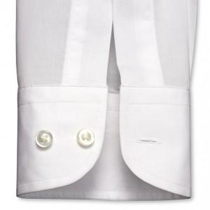Пример рукава рубашки с пуговицами и размером рукава